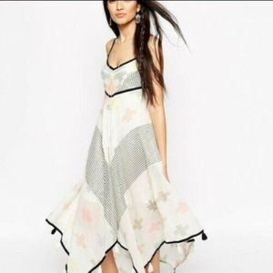 Free People Crossing Paths High Low Dress XS US